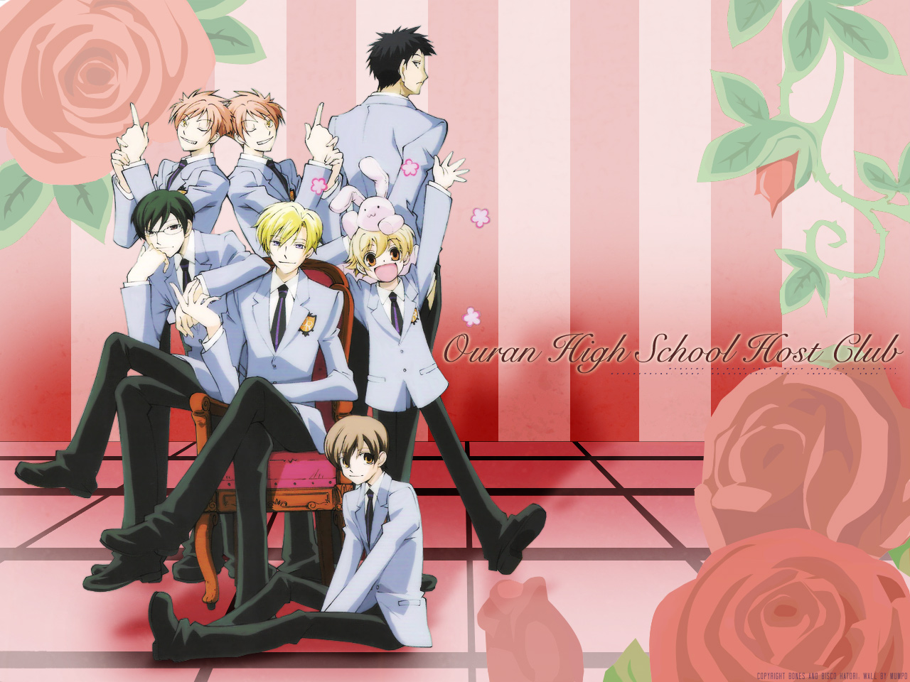 Ouran Highschool Host Club Crest DRAMA Ouran Hig...